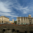 Catania Roman Amphitheatre, Sicily, southern Italy — Stock Photo #9002310