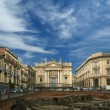 Catania Roman Amphitheatre, Sicily, southern Italy — Stock Photo #9002337