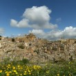 View of a typical ancient city, Sicilia, Agrigento Province - ストック写真