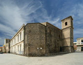 Starobylé budovy. Acicastello, nedaleko města catania, Sicílie — Stock fotografie