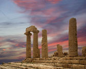 Ancient Greek Temple of Juno, Agrigento, Sicily — Стоковое фото