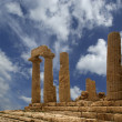 Ancient Greek Temple of Juno, Agrigento, Sicily - Stok fotoraf