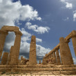 Ancient Greek Temple of Juno, Agrigento, Sicily — Stok fotoğraf