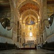 The Christ Pantokrator. Cathedral of Monreale, Sicily - Foto Stock