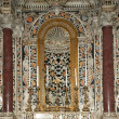 The interior Cathedral-Basilica of Monreale, Sicily, Italy - Foto Stock