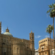 The Cathedral of Palermo, Sicily, southern Italy - Stock Photo