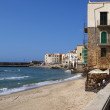 Old town in Cefalu, Sicily, Italy. — Stock Photo