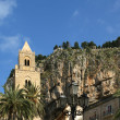 The Cathedral-Basilica of Cefalu, Sicily, southern Italy - Stock Photo