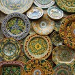 Symbol of the island of Sicily, Italy. Traditional souvenirs - Stock Photo