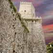 Venus Castle at Erice, Sicily, Italy — Stock Photo