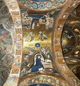 The interior of the church of St. Mary, Palermo, Sicily, Italy — Stock Photo