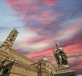 La catedral de palermo, sicilia, sur de italia — Foto de Stock