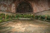 古代ローマの公共の洗濯。チェファル、シシリー、南イタリア. — ストック写真