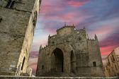 Medievel Catholic Church. Erice, Sicily — Stock Photo
