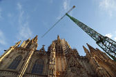 Cathedral (La Seu) of Barcelona, Spain — Foto Stock