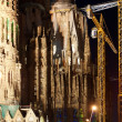 Sagrada Familia by Antoni Gaudi in Barcelona Spain — Stock Photo #9896499