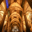 Inside the Cathedral of Barcelona — Stock Photo #9896990