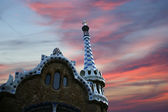 Parc Guell in Barcelona, Spain — Stock Photo