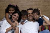 Beautiful family enjoying together — Stock Photo
