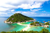 Tropical paradise in Thailand — Stock Photo