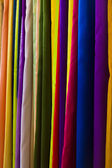 Colorful textile — Stock Photo