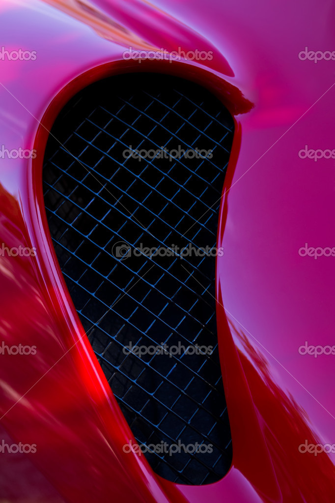Air inlet Ferrari — Stock Photo #9193049