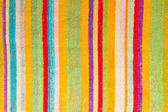 Multicolored towel background — Stock Photo