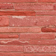 Brick wall of the Red Fort — Stock Photo