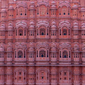 Palace of Winds, Hawa Mahal, Jaipur, Rajasthan, India. — Stock Photo