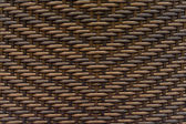 Woven chair background or texture — Stock Photo