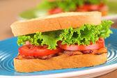 Blt sandviç — Stok fotoğraf