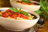 Spaghetti with Tomatosauce — Stock Photo