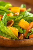 Spinach Mango Carrot Salad — Stock Photo
