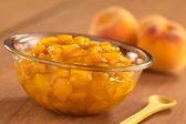 Peach Compote — Stock Photo