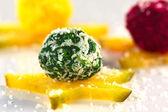 Vegetable Coconut Balls — Stock Photo