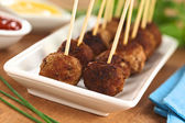 Meatball Appetizers — Stock Photo