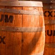 Rum Kegs — Stock Photo