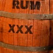 Rum Keg — Stock Photo