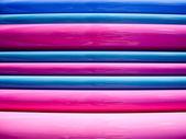 粉色然后蓝色 — 图库照片
