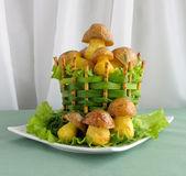 Grzyb ziemniaków — Zdjęcie stockowe