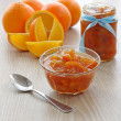 Orange jam - Stock Photo