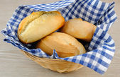 Biscuit in the basket — Stock Photo