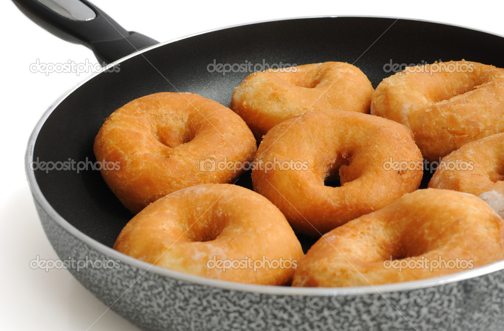 Рецепт на кефире для сковорода для пончиков