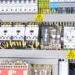 Panel with electrical equipment — Stock Photo #10199176