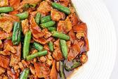 Kuře se zeleninou — Stock fotografie