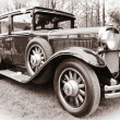 Old American car — Stock Photo #8024817