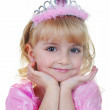 Little princess in pink — Stock Photo #8594253