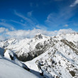 High snow mountains, Elbrus — Stock Photo #8132062