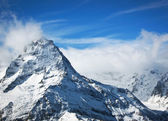 High snow mountains, Elbrus — Stock Photo