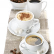 Stock Photo: Various coffee